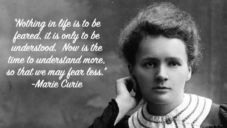 inspired marie curie